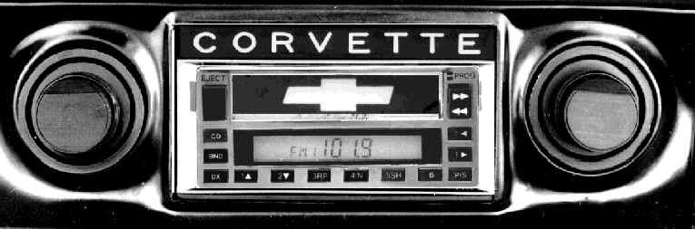 1968 Corvette Radio 1 - Corvette Stereo Specials - 1968 Corvette Radio 1